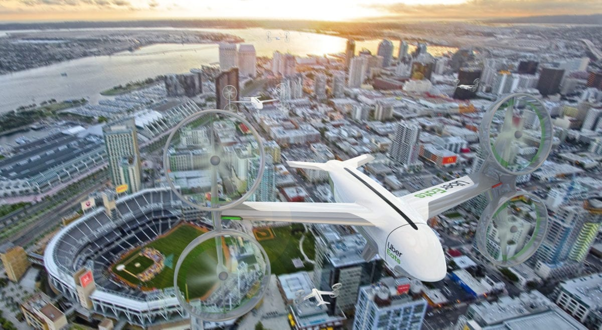 Uber Plans Fast Food Drone Delivery in San Diego