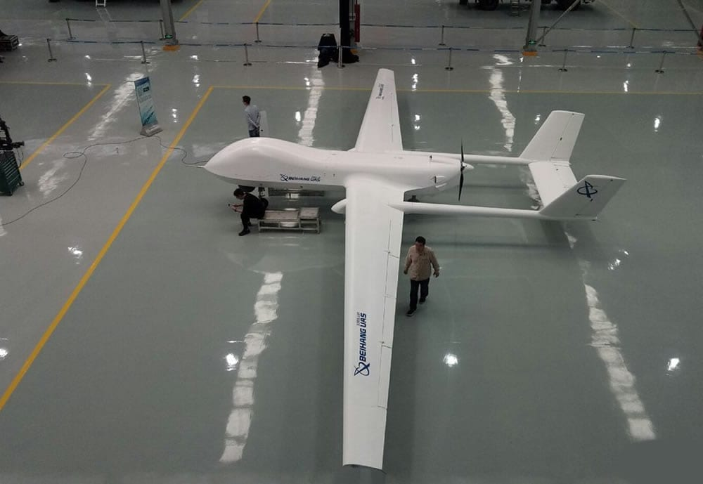 Garuda to Operate 100 Chinese Drones