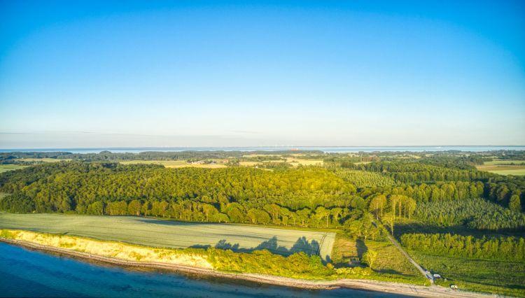 Dronefoto Langeland