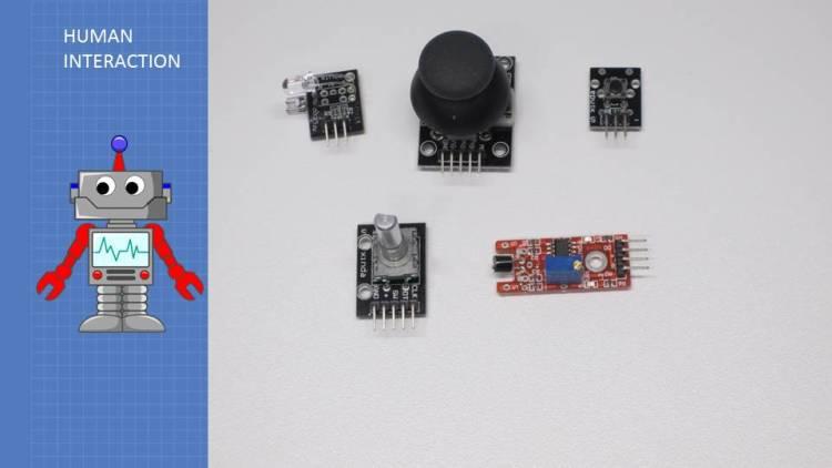 37 Sensors - Human Interaction