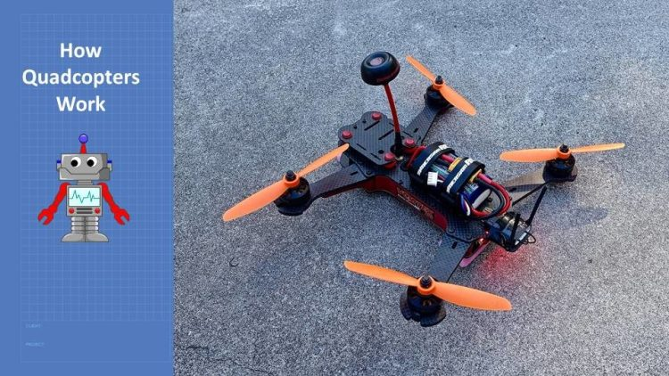 How Quadcopters Work