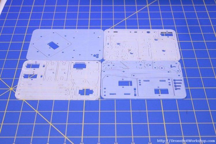 MeArm Acrylic Plates