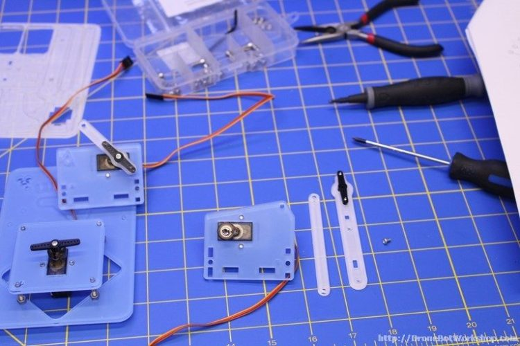 MeArm Step 19-20-21 Parts
