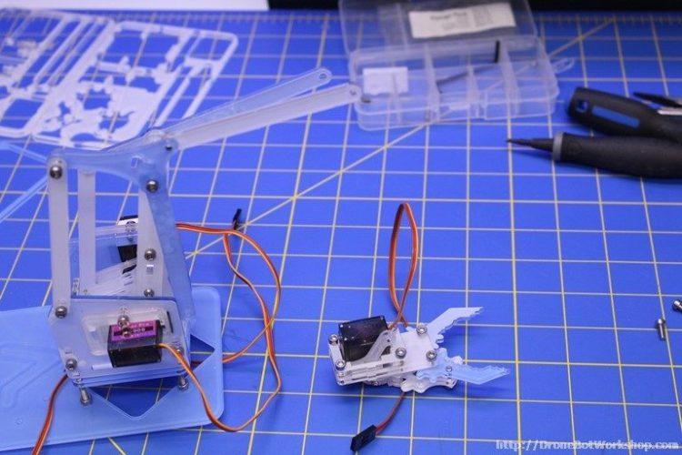 MeArm Step 49-50-51-52 Parts