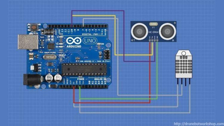 HC-SR04 3-Wire Mode