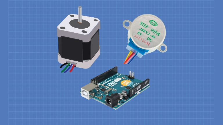 stepper motors with arduino dronebot workshopstepper motors with arduino