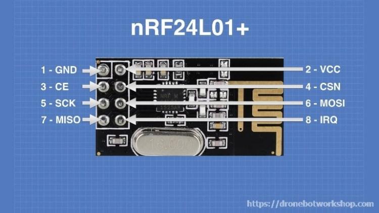 nrf24l01 Module Connections