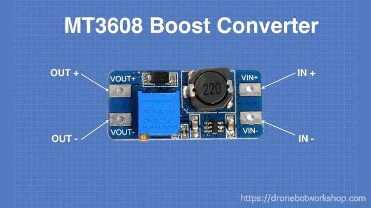 MT3608 Voltage Boost Converter