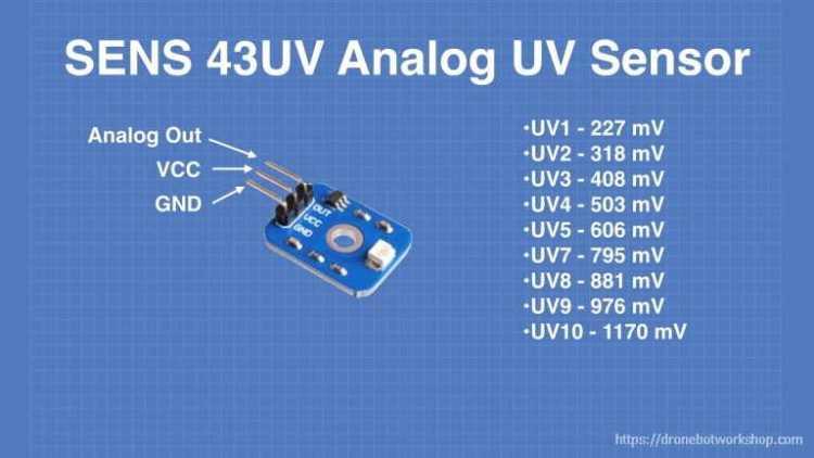 SENS 43UV UV Sensor Hookup