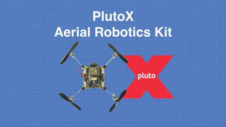 A Drone You Can Program Introducing Plutox Dronebot Workshop