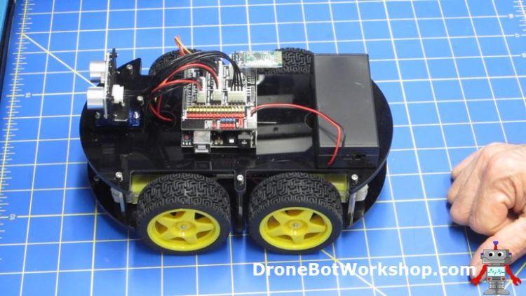 Finished Elegoo Smart Robot Car