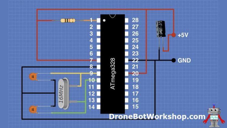 ATmega328 Wiring
