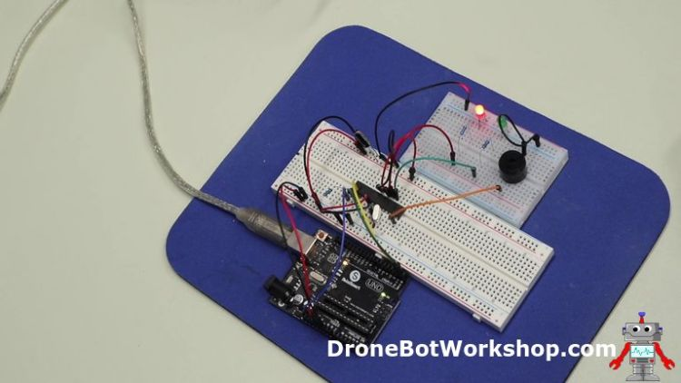 Arduino as programmer on breadboard