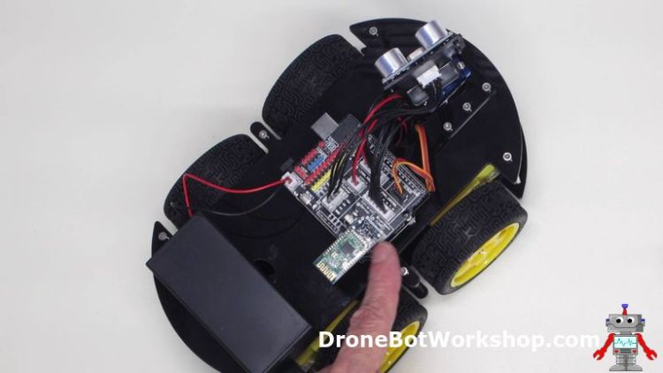 Bluetooth Module on Robot Car