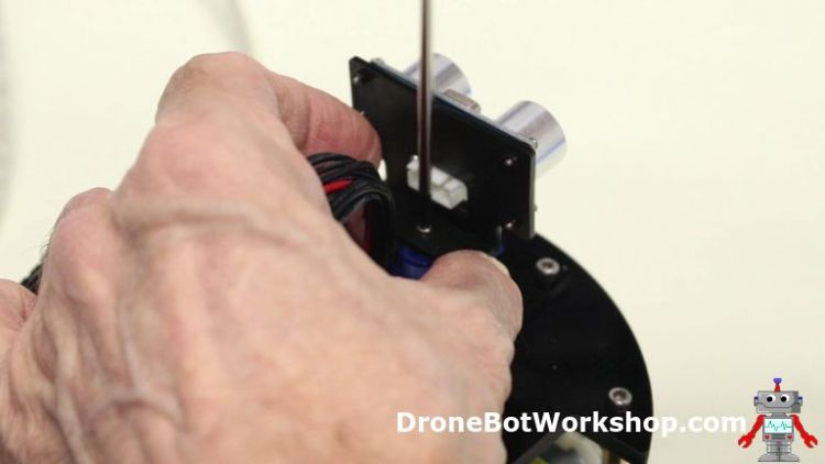 Removing the Ultrasonic Sensor