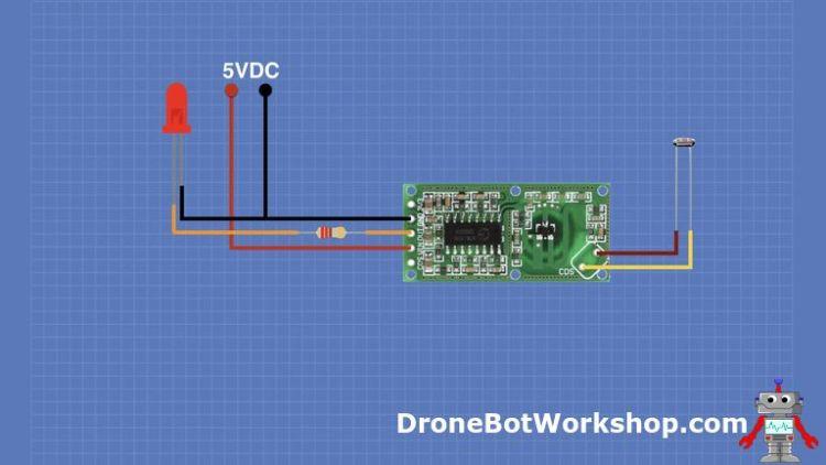 RCWL-0516 Hookup with Light Sensor