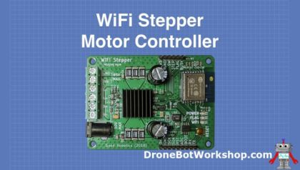 Stepper Motors with Arduino   DroneBot Workshop