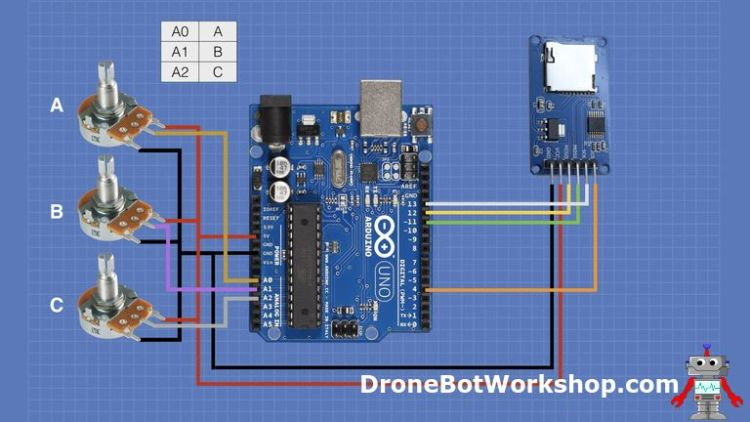SD Card Experiments with Arduino | DroneBot Workshop