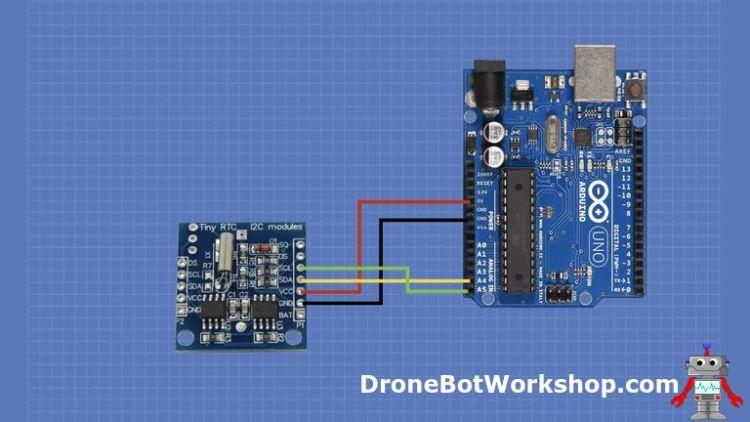 Tiny RTC Arduino Hookup