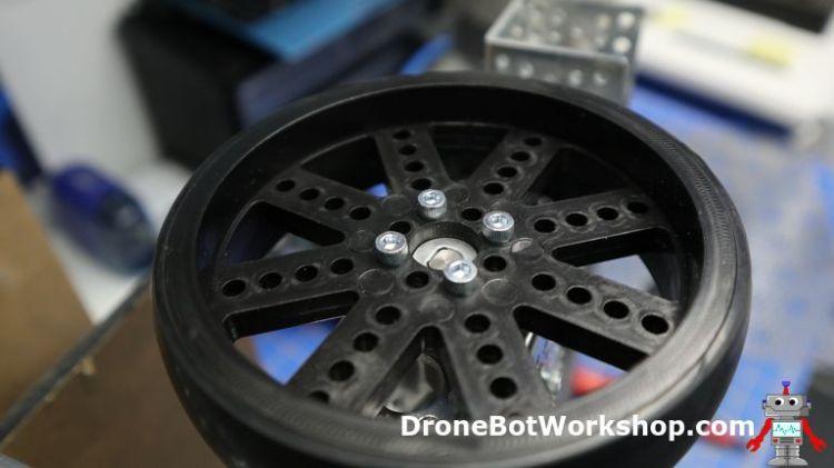 Front wheel mount