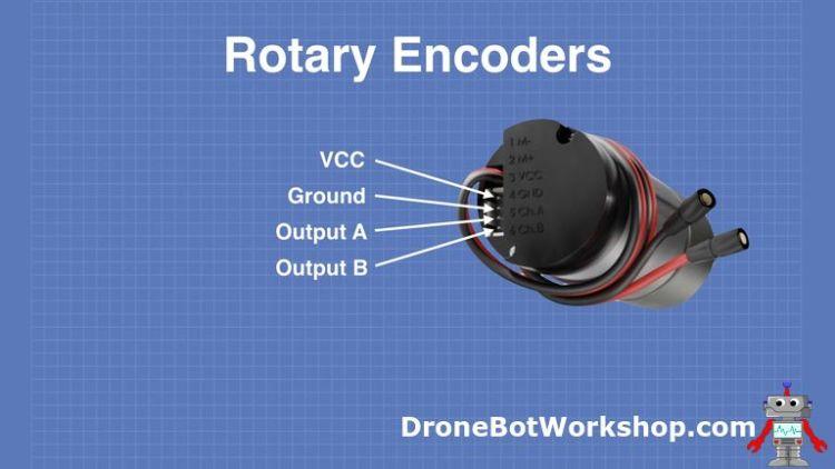 Motor Encoder Pinout