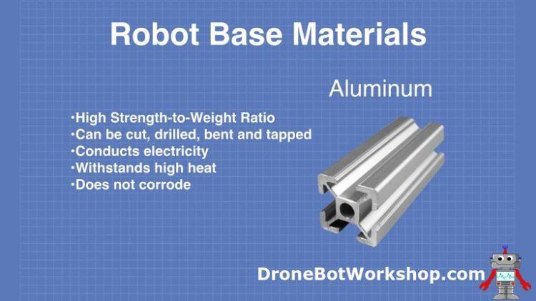 Robot Base - Aluminum