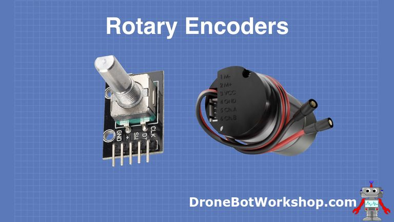 using rotary encoders with arduino dronebot workshop rotary encoder circuit diagram how to use rotary encoder with arduino
