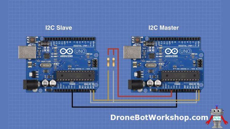 I2C Arduino Master Slave Hookup