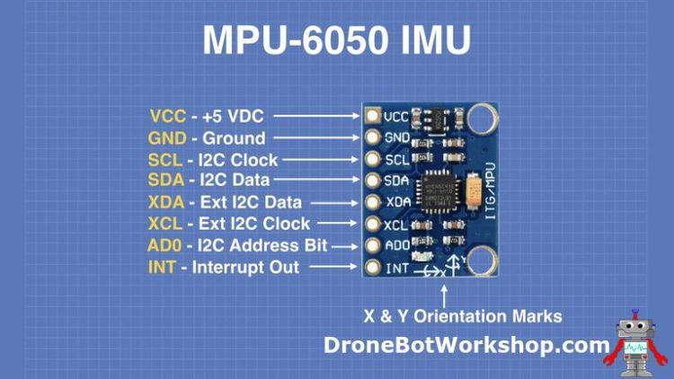 MPU-6050 Pinouts
