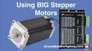 Using BIG Stepper Motors with Arduino