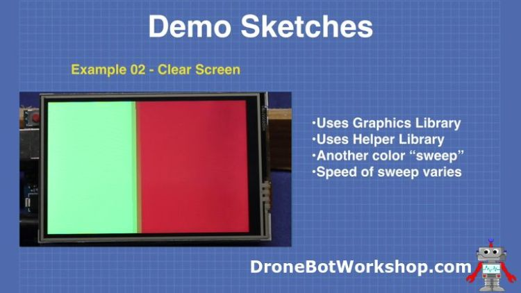 Demo 2-clear-screen