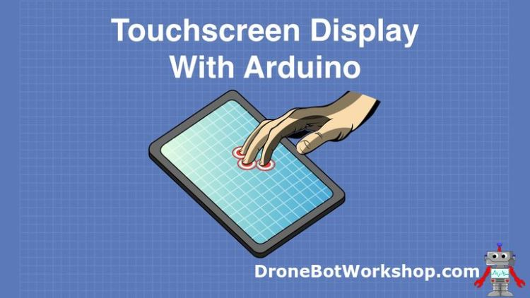 Touchscreen Display with Arduino