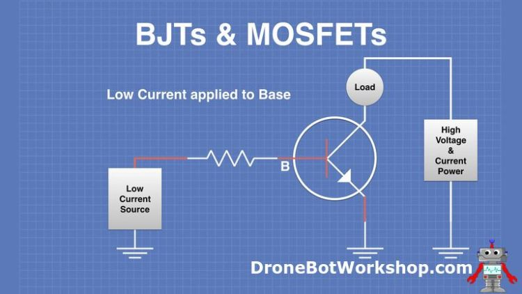 BJT Low Current to Base