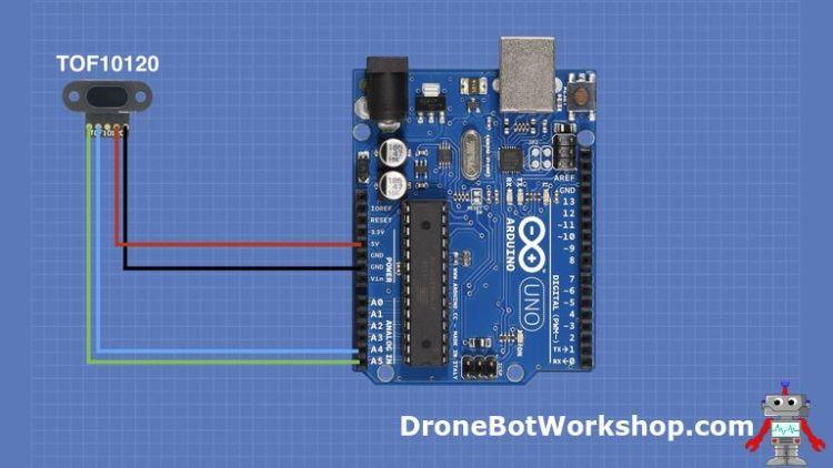 TOF10120 Arduino hookup