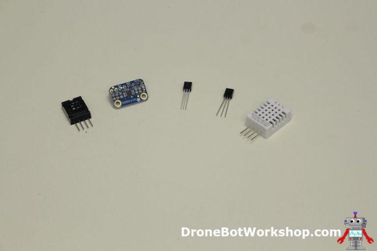 Five Temperature Sensors