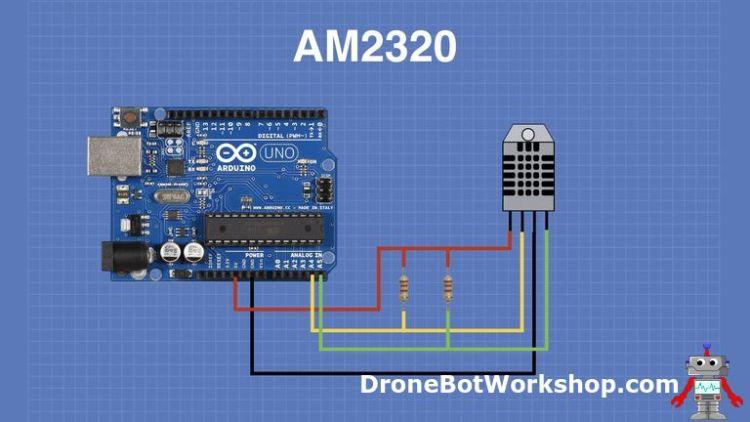 AM2320 Arduino Hookup