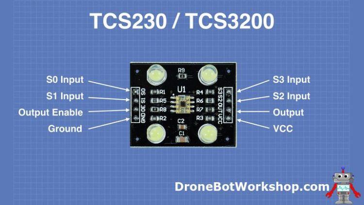 TCS230 pinout