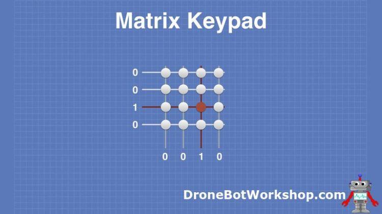 Matrix Keypad # 6 - Row Scan 3