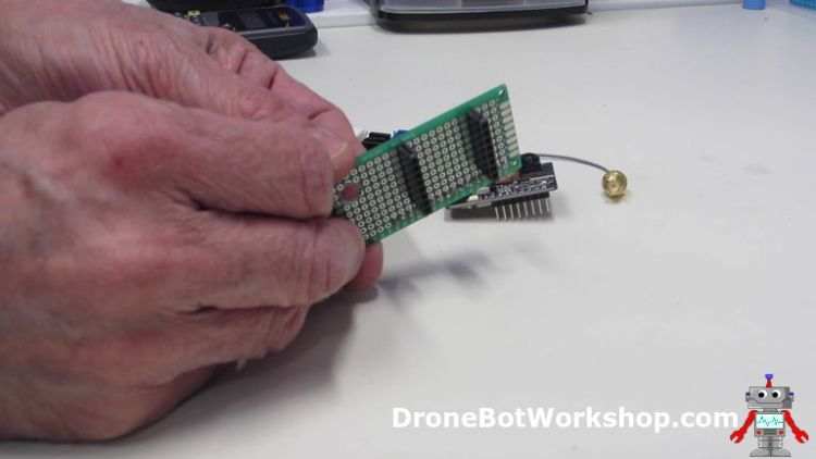 ESP32-CAM Developers Module Front Section