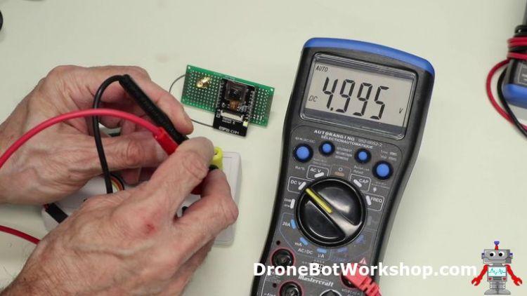 Power Supply Test - 5-Volts