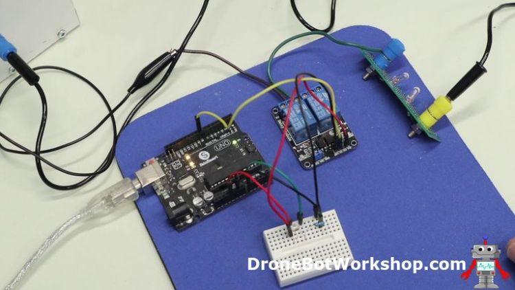 LDR Arduino Relay Off