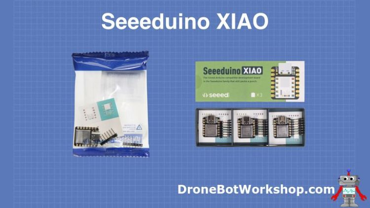 Seeeduino XIAO Packaging