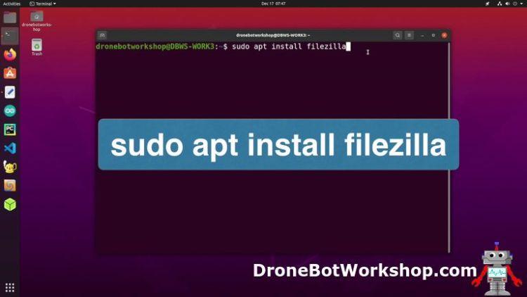 FileZilla Installation