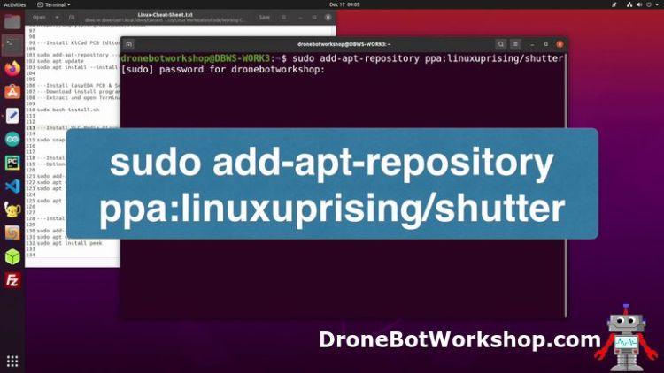 Shutter Install - Repository