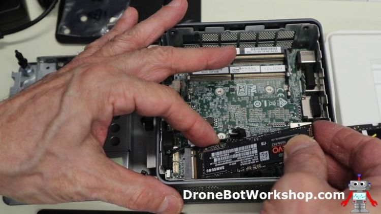 Workstation add SSD