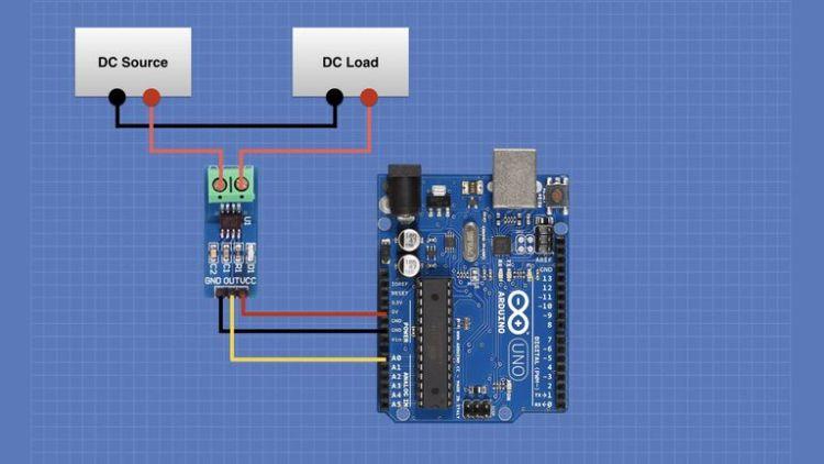 ACS712 Arduino Hookup