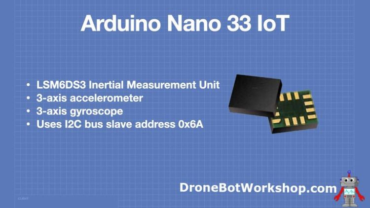Arduino Nano 33 IoT LSM6DS3