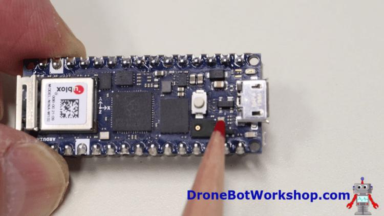 Arduino Nano RP2040 Connect - Top View