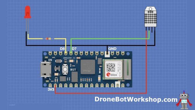 Arduino Nano 33 IoT Hookup