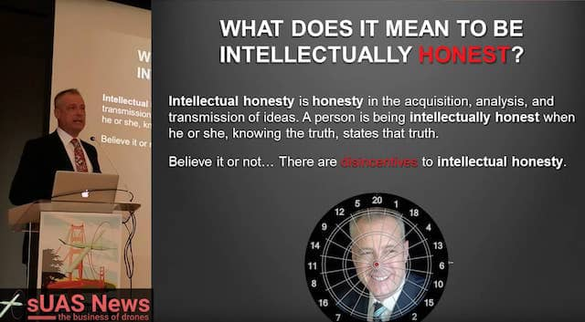 Patrick Egan Intellectual Honesty slide